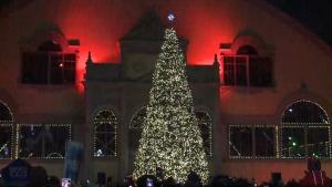 Lansdowne Christmas tree lighting