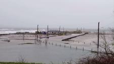 Indian Beach flooding