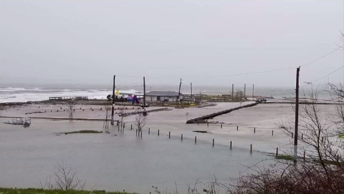 Indian Beach in North Sydney suffered the most damage as nearly $700,000 in repairs to enhance the beach was nearly all wiped away after Thursday's storm surge hammered the coast.