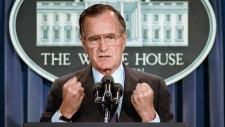 U.S. President George H.W. Bush