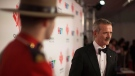 Chris Hadfield stands on the red carpet as he Is inducted into the 2018 Canada Walk of Fameduring a press red carpet event in Toronto on Saturday December 1, 2018. THE CANADIAN PRESS/Chris Young