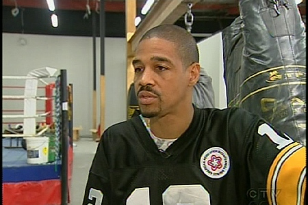 Former olympic boxer Howard Grant (July 12, 2009)
