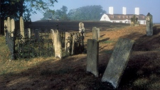 The Garrison Graveyard at Fort Anne