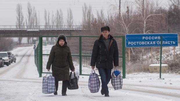 Ukraine-Russia border