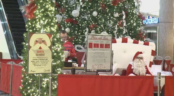 Children with autism had the chance to meet Santa in a sensory-friendly environment at the Cornwall Centre on Dec. 2, 2018.