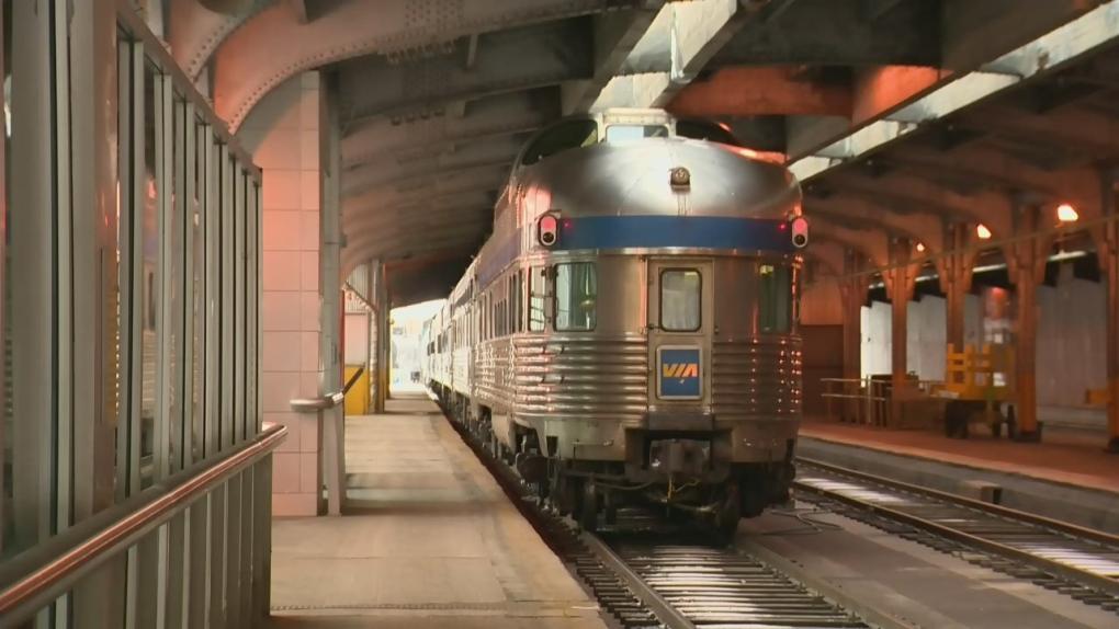 Passenger train service to Churchill back on track | CTV News