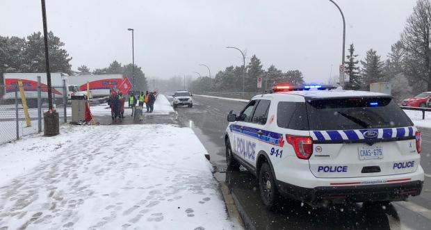Canada Post Ottawa protest
