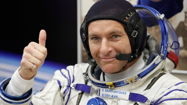 CSA astronaut David Saint Jacques,