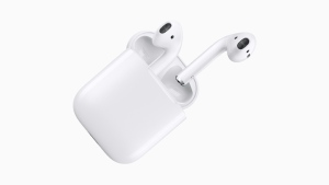 Apple says AirPods have become the company's most popular accessory ever. (Apple)