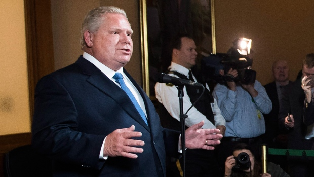 First ministers meeting ends with another Trudeau, Ford spat