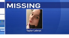 25-year-old Taylor Lebrun reported missing