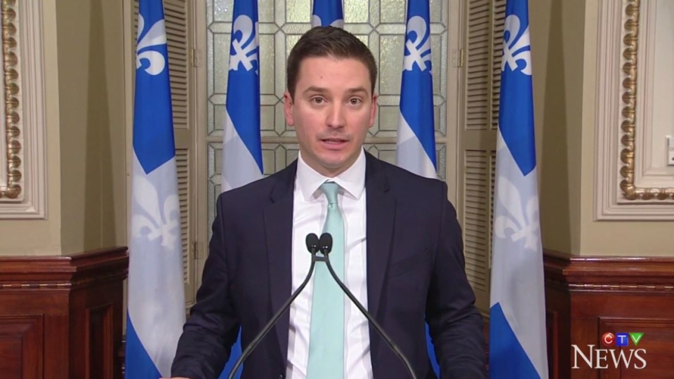 Quebec Immigration Minister Simon Jolin-Barrette has compared the proposed new immigration system in Bill 9 to dating apps like Tinder, allowing for better matches between newcomers and job openings.