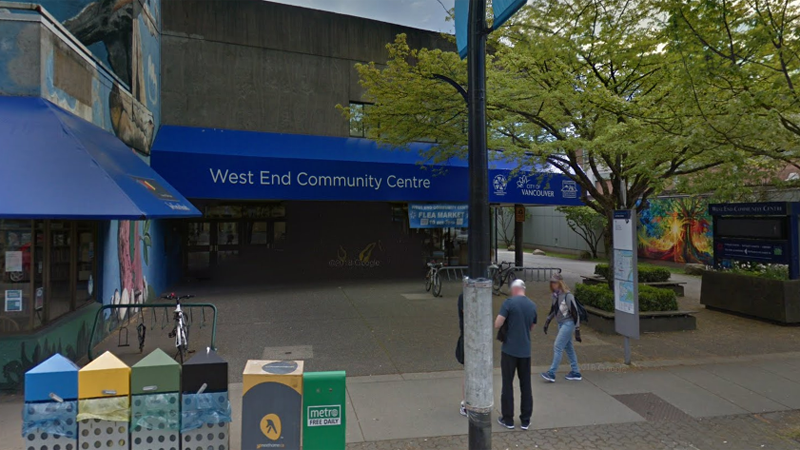 The West End Community Centre is seen in this undated Google Maps image.