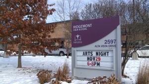 Ridgemont High school on Alta Vista Drive.