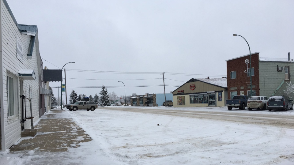 Stoughton is at a standstill as the province deals with a massive power outage (Taylor Rattray / CTV Regina)