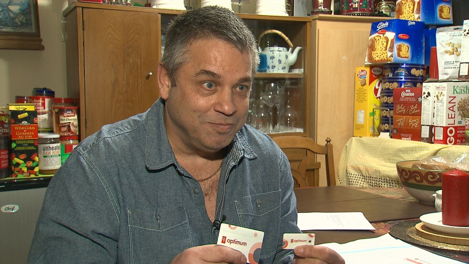 James Spencer says that he has collected about $4,000 worth of PC Optimum points.