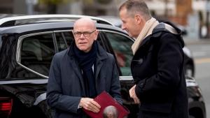 Volkswagen CEO Herbert Diess at White House