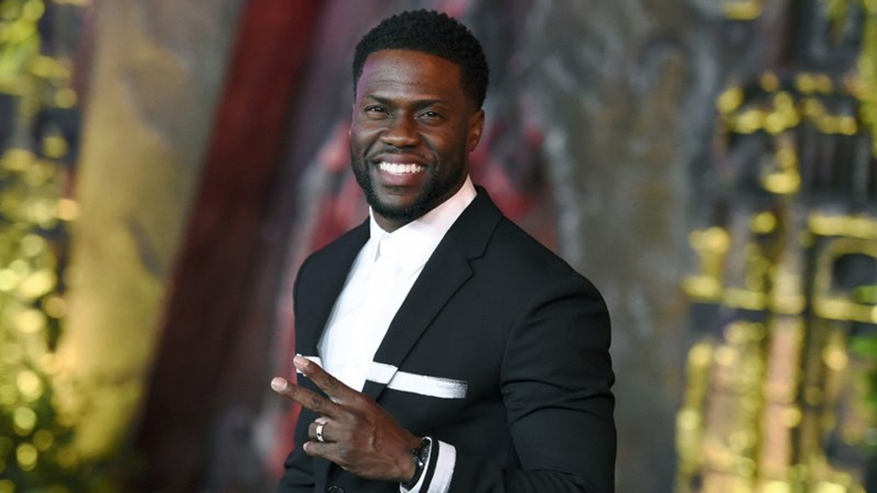 "In this Dec. 11, 2017 file photo, Kevin Hart arrives at the Los Angeles premiere of ""Jumanji: Welcome to the Jungle"" in Los Angeles. (Photo by Jordan Strauss/Invision/AP, File)"