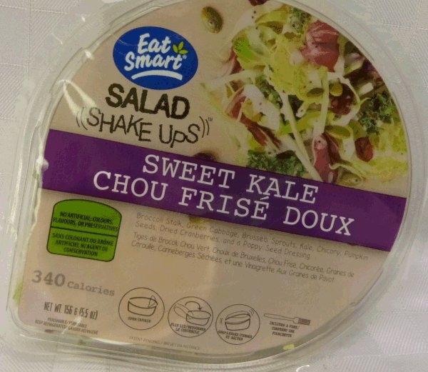 Eat Smart Salad Shake Ups Sweet Kale. Photo courtesy CFIA.