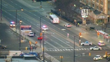 Pedestrian struck and killed by bus in Brampton