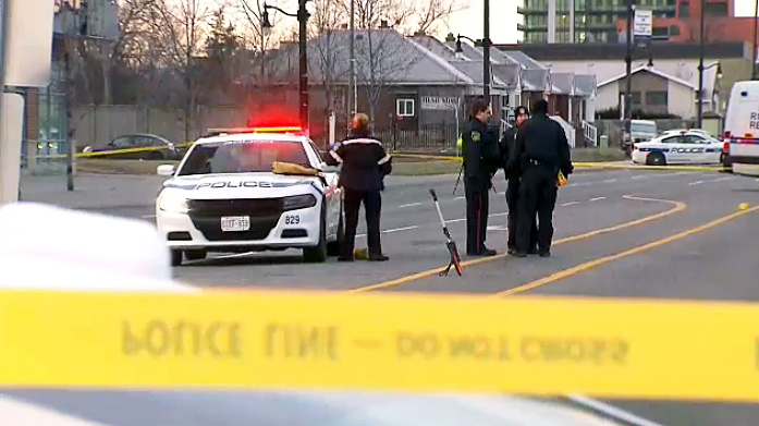 A pedestrian is dead after being struck by a transit bus in Brampton on Dec. 5, 2018.
