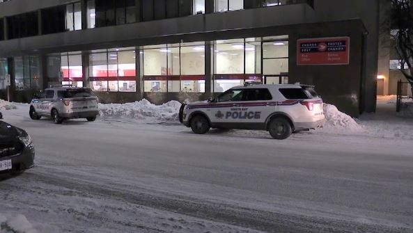 Police evacuated North Bay post office Tuesday