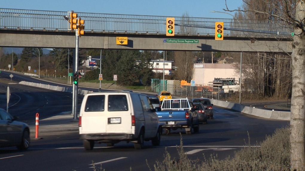 trans canada highway traffic lights carey road