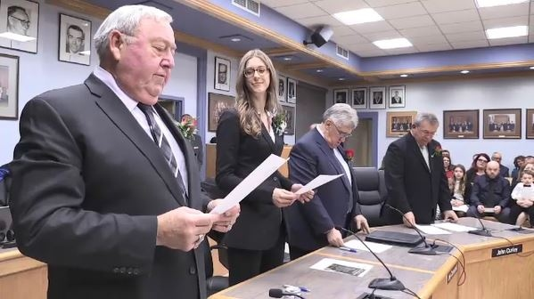 New Timmins city council sworn in