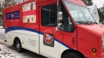 Canada Post truck in Ottawa
