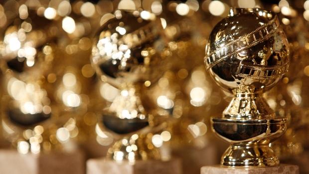 Golden Globes statuettes