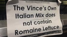 romaine notice