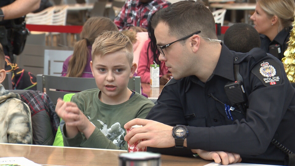 On Wednesday, Police partnered with 26 deserving youth who received gift cards for holiday shopping as part of the CopShop program.