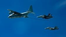 U.S. warplanes
