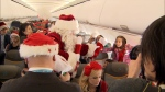 Kids take flight in search for Santa