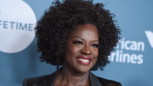 Viola Davis arrives at The Hollywood Reporter's Women in Entertainment Breakfast at Milk Studios on Wednesday, Dec. 5, 2018, in Los Angeles. (Photo by Jordan Strauss/Invision/AP)