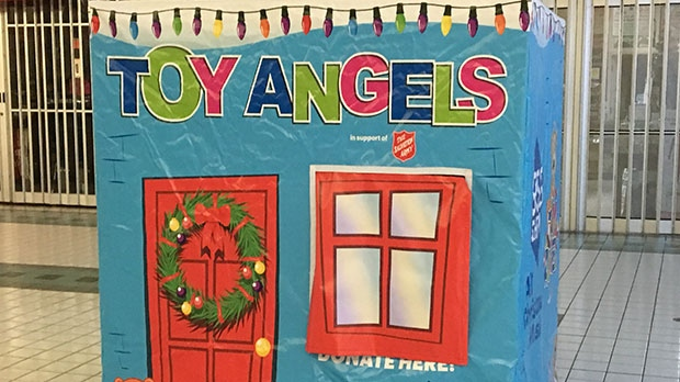 The Salvation Army's Toy Angel program is in need of donations and boxes have been set up at several locations in the city.