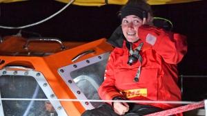 British yachtswoman Susie Goodall