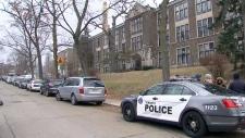 Police investigation at school