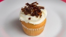 A donair cupcake is seen in Halifax on Thursday, Dec. 6, 2018.  The THE CANADIAN PRESS/Andrew Vaughan