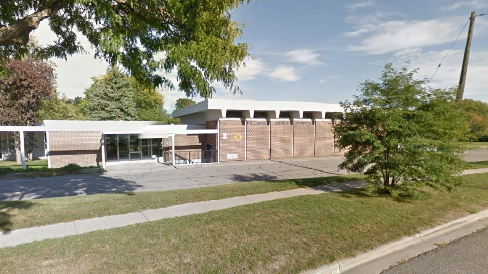 Hillsdale Public School in Oshawa, Ont., is shown in this image from Google Maps.