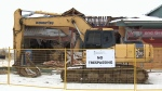 Dunrobin Plaza demolition underway Dec. 6, 2018