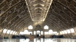 Aberdeen Pavilion roof is leaking