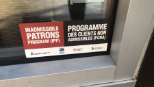 Inadmissible Patrons Program