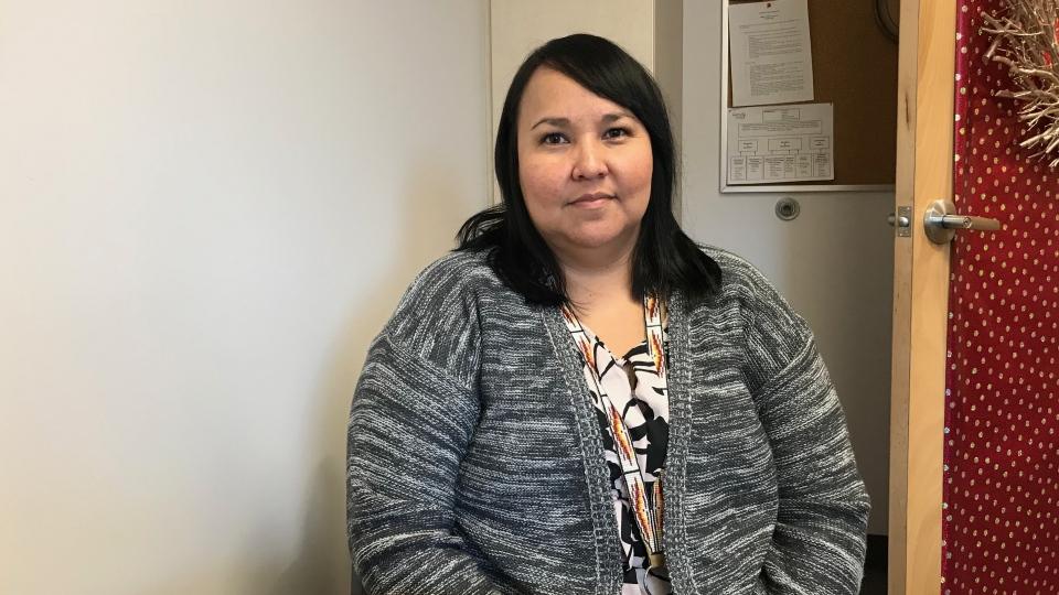 Alana Gardiner works as a domestic violence court case worker in Saskatoon. (Saron Fanel/CTV Saskatoon)