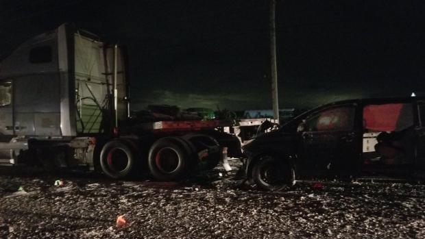 Crash near Stratford
