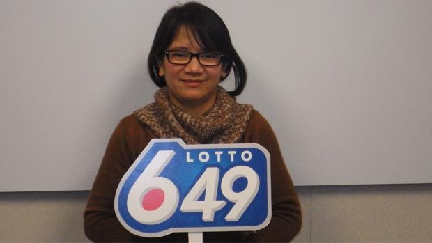 Edmonton woman wins $1-million lottery