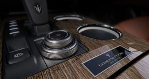 Centre console of Maserati Ghibli with Edizione Nobile package. (Maserati)