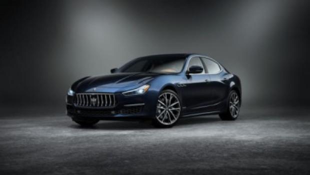 GranLusso edition of Maserati Ghibli dressed in the Edizione Nobile package. (Maserati)