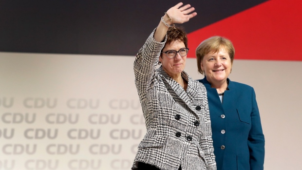 CDU Succession Vote: Delegates to pick Merkel's successor