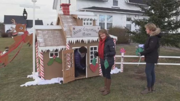 Residents of N.S. village continue gingerbread house tradition in woman's memory
